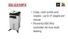 SHARP DX-C310FX PRINTER FAX WINDOWS